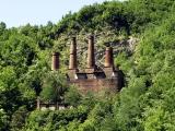 Resti di una fornace in località Tre Fontane